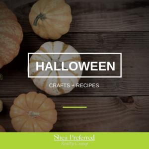 Halloween crafts + recipes