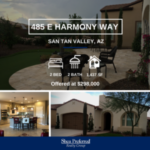 Featured Listing | 485 E Harmony Way | San Tan Valley, AZ