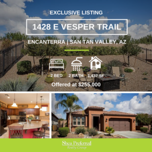 1428 E Vesper Trail | Encanterra, San Tan Valley, AZ