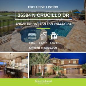 36384 N Crucillo Dr | Encanterra, San Tan Valley, AZ