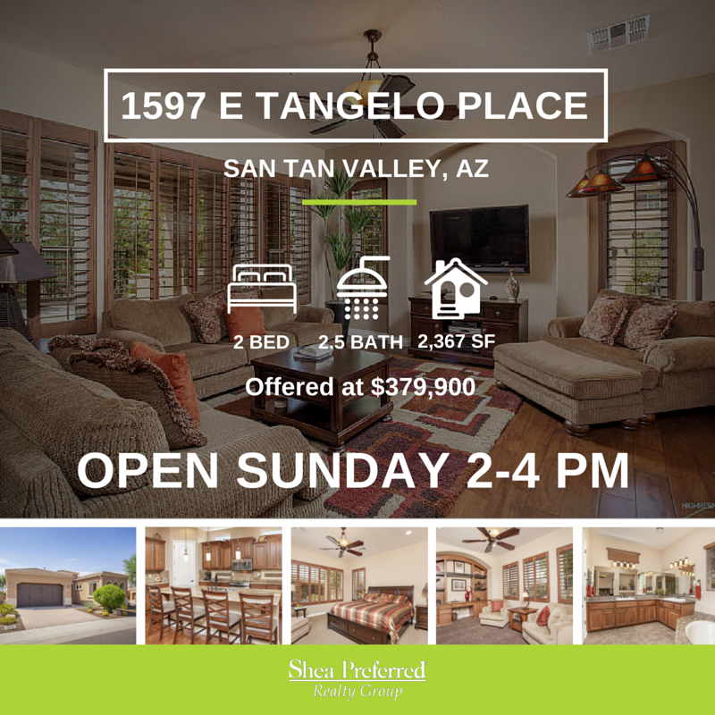 Open House | 1597 E Tangelo Place