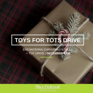 Encanterra Christmas Stroll + Toy Drive