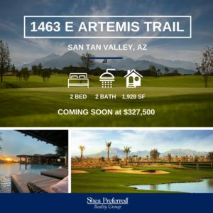 Featured Listing | 1463 E Artemis Trail | Encanterra, San Tan Valley